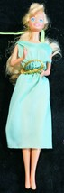 Mattel 1966 Barbie - Wearing Green Dress - Made in China - $6.23