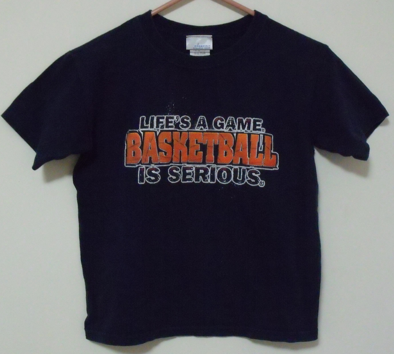 Primary image for Boys Pro Spirit Navy Blue Short Sleeve T Shirt Size S