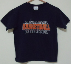 Boys Pro Spirit Navy Blue Short Sleeve T Shirt Size S - $4.95