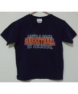 Boys Pro Spirit Navy Blue Short Sleeve T Shirt Size S - $4.95