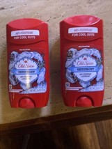 Lot of 2 Old Spice Wild Collection Yetifrost Deodorant Stick - $13.35