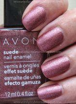 "Avon Suede Nail Enamel ""Sumptuous Rose"" - $4.25"