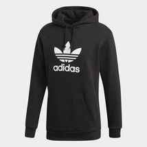 Adidas Originals Men's Trefoil Pullover Hoodie NEW AUTHENTIC Black/White... - $59.99