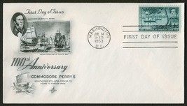 #1021 5c Opening of Japan, Art Craft FDC **ANY 4=FREE SHIPPING** - $1.25
