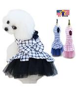 Bowknot Wedding Princess Dog Cat Dress Up Pet Costume Cosplay Halloween ... - $9.88+