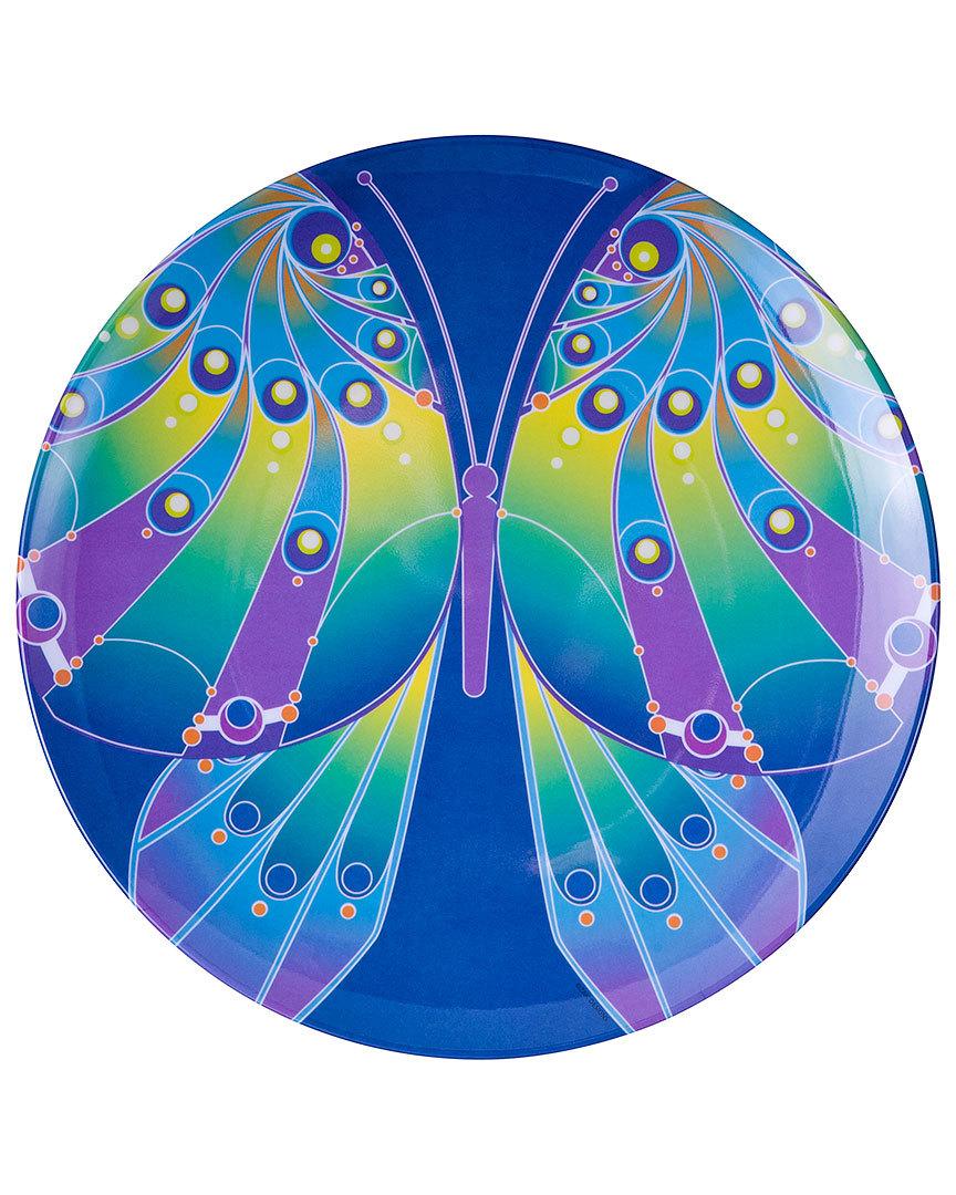 """Zak Designs """"Flutter"""" Set of 12 11in Melamine Dinner Plates - $62.40"""