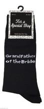 1 Paar Herren Schwarz Hochzeit Socken 6-11 Uk 39-45 Eur - Großvater der ... - $7.52