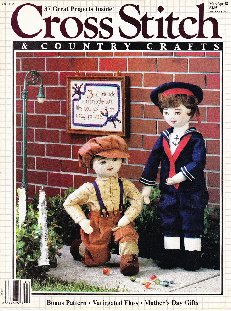 Primary image for CROSS STITCH & COUNTRY CRAFTS DOLLS MOTHER