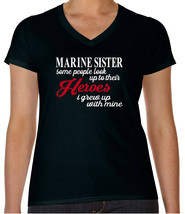 Marine Shirt  Marine Sister T-Shirt Military Support Our Troops Tee Sist... - $17.99