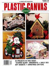 PLASTIC CANVAS CORNER DEC. 1990 CHRISTMAS PIGGIES - $4.50