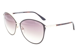 Tom Ford Penelope Brown Gold / Brown Gradient Sunglasses TF320 28F - $234.22