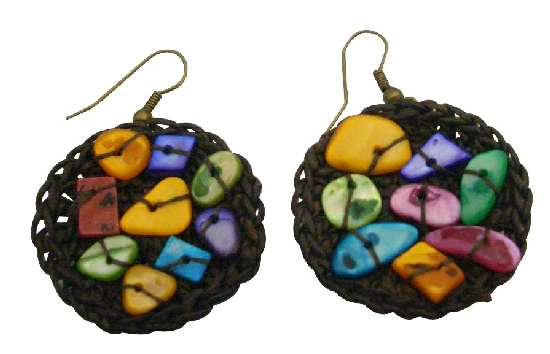 Shop Cheapest Fashion Earrings Excellent Quality Multicolored Shell Earrings
