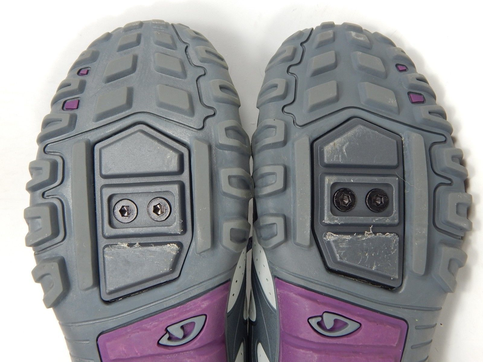 Giro Sage Cycling Shoes Women's Size US 7.5 M (B) EU 39 Gray / Slate