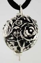 Rose Essential Oil diffuser locket with chord - $14.99