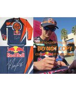 Marvin Musquin Supercross Motocross signed autographed Red Bull KTM Jers... - $299.99