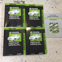2006 Toyota Land Cruiser Service Shop Repair Workshop Manual Set W Ewd - $494.99