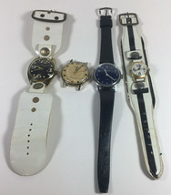 Lot Of Watches Vintage Lucerne Watches For Parts Or Repair - $28.71