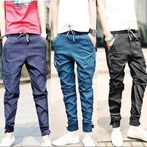 Fashion 2018 New Baggy Elastic Harem jeans Men Taper Jeans Joggers Casua... - $41.62