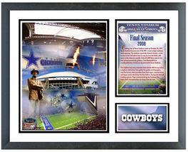"Dallas Cowboys Texas Stadium Final Season 2008 11""x14"" Framed Memories - €36,99 EUR"