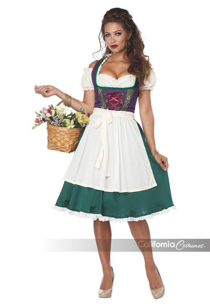 California Costumes Bayrisches Bier Maid Damen Oktoberfest Halloween Kostüm image 2