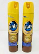 2 Pack Pledge Beautify It Lavender Enhancing Polish Spray Wood Shine Cle... - $24.99