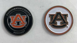 NEW Auburn University Tigers Golf Ball Marker Coin 24mm Double Sided - $5.93