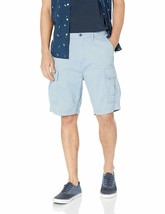 Levi's Men's Premium Cotton Multi Pocket Carrier Cargo Shorts Blue 232510115