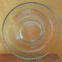 """Vintage Pyrex France Round Clear Glass Bunt Cake Jello Mold 22 cm  9"""" - $19.00"""