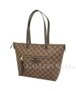 LOUIS VUITTON Iena PM Damier Ebene Tote Bag N41012 France Authentic 5282890 - $1,288.05