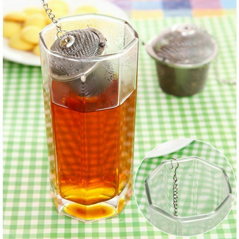 Arshen Tea Infusers Chained Lid Stainless Steel Mesh Ball Filter Strainer Tools image 2