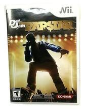 Def Jam Rapstar - Nintendo Wii (T)een 2010 Konami Complete Kanye TI HipH... - $12.37