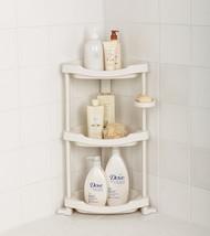 Tenby Living Corner Shower Caddy - 3 Shelf Shower Organizer Caddie with ... - $26.85