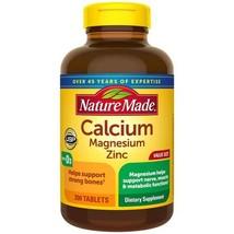 Nature Made Calcium Magnesium Zinc with Vitamin D3 -- 300 - $17.64