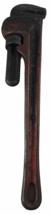 "Vintage 18"" The Ridge Tool Co. Elyria Ohio Rigid Heavy Duty Straight Pipe Wrench - $27.71"