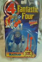 """Fantastic Four """"BLASTAAR"""" Action Figure 1995 Toy Biz New With Package Damage - $11.76"""