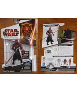 * BD 05 Darth Maul with BG-J38 left arm MOC Star Wars Legacy Collection - $7.50