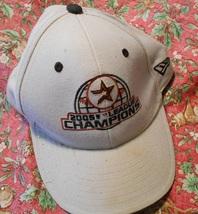 Houston Astros 2005 League Champions Baseball Hat, Used Gift for MLB Spo... - $11.95