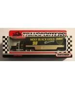 1992 #98 JIMMY SPENCER  MOLY BLACK  MATCHBOX SUPER STAR TRANSPORTER 261          - $17.96