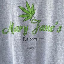 Mary Janes Pot Shop T Shirt Weed Marijuana Hanes Tagless Small Funny Gag... - $12.86