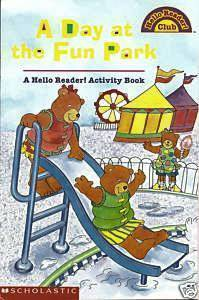 Primary image for A Day At The Fun Park-A Hello Reader!Activity Book-Sted