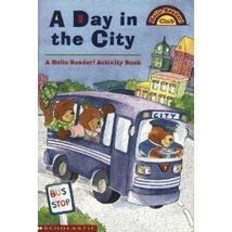 A Day in the City-A Hello Reader! Activity Book-Steding - $4.97
