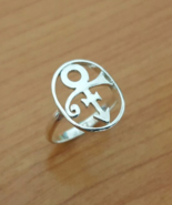Ring - Love - Remembrance Symbol - 2nd Version - Sterling Silver - Handmade - $48.00