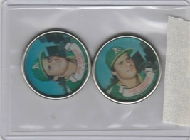 1987 Topps Coins Jose Canseco A's Lot of 2 - $2.50