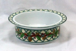 Dansk 1998 Nordic Holiday Rimmed Cereal Bowl - $20.78