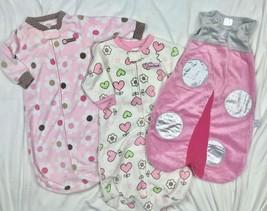 Carters Fleece Sleep Sack Blanket Sleepers Pajamas Ladybug Baby Aspen Gi... - $25.84