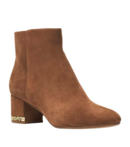MICHAEL Michael Kors Sabrina Mid Booties Dark Caramel Multiple Sizes - $2.442,16 MXN