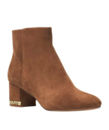 MICHAEL Michael Kors Sabrina Mid Booties Dark Caramel Multiple Sizes - $160.00 CAD