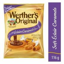 Werther's Original Soft Éclair Caramel Candy 116g NEW - $8.54