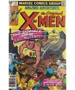 Amazing Adventures Starring The Original X-Men Vol. 2 No. 12 November 1980 - $6.99
