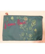 Lancôme j'aime Paris! Turquoise Blue w/ Lancôme Roses Print Cosmetic Bag... - $6.47